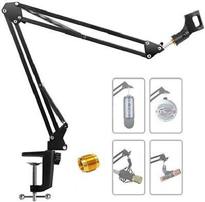 Adjustable Microphone Boom Arm Stand,  Desk Microphone Stand Suspension Boom • 28£