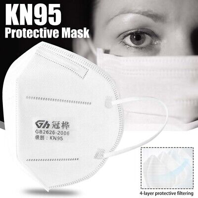 AU54.95 • Buy 10 X N95 KN95 Particulate Anti Dust Special Protective White Mask (10PCS)