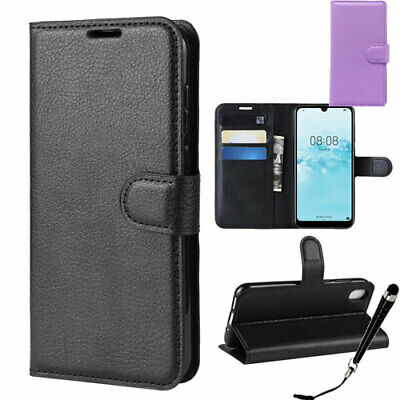 AU9.39 • Buy HQ Wallet Money Card Leather Case Cover For Huawei Y5 2019 + Stylus