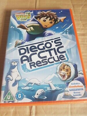 £3.99 • Buy Go Diego Go! - Diego's Arctic Resue Mission (DVD, 2010) Brand New And Sealed