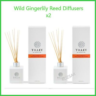AU45.95 • Buy TILLEY Reed Diffuser WILD GINGERLILY X 2  -  AUSTRALIAN MADE