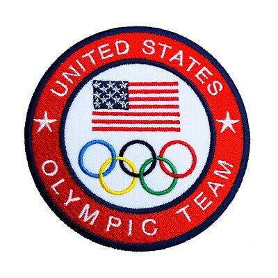 £5 • Buy United States Olympic Team Patch (4 Inch) Iron On Badge USA Jacket CAP Costume