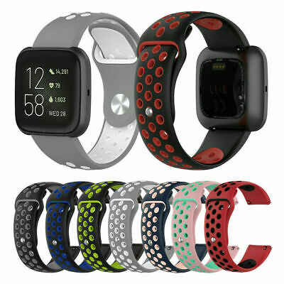 $ CDN6.35 • Buy For Fitbit Versa 2 Replacement Silicone Sports Band Strap