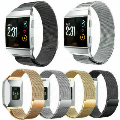 AU12.54 • Buy For Fitbit Ionic Replacement Metal Milanese Band Strap