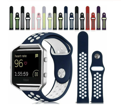 AU6.82 • Buy For Fitbit Blaze Replacement Silicone Sports Band Strap