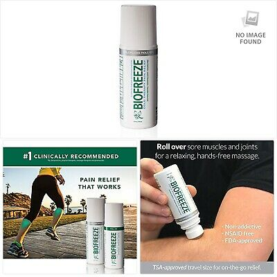 Biofreeze Pain Relief Roll-On Applicator, 3oz • 16.42£