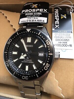 $ CDN966.16 • Buy New SEIKO PROSPEX SBDC051 Automatic Black Silver Stainless Date Round Divers