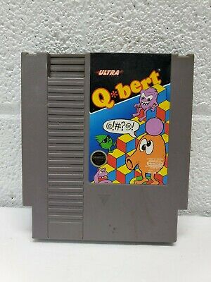 $ CDN10.14 • Buy Qbert (Nintendo Entertainment System, 1989)