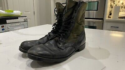 $40.59 • Buy RO Search Vintage Military Combat Boots Size 10 1/2 N