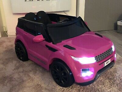 New Pink Childrens 4x4 Sport Style 12v Electric Kids Childs Ride On Jeep Car • 179.90£