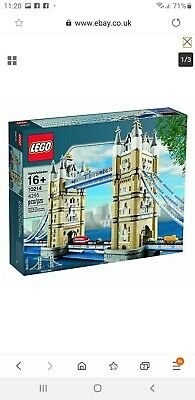 Lego Tower Bridge 10214 Brand New Sealed Now Retired • 320£