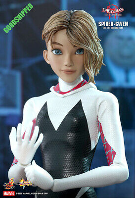 $ CDN353.82 • Buy Hot Toys Spiderman Into The Spider-verse Spider-gwen Gwen Stacy Mms576 1/6 New