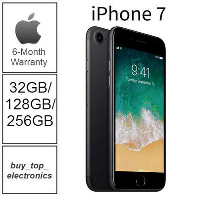 AU409 • Buy NEW Apple Iphone 7 32/128/256GB AU STOCK UNLOCKED 6 MONTHS WARRANTY FREE POST