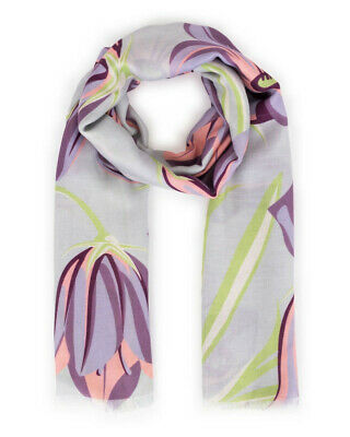 Bluebell Print Scarf In Tangerine By Powder BNWT RRP £25 • 15£