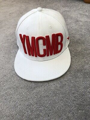 Young Money Cash Money Billionaires YMCMB White Snapback Hat • 8.99£