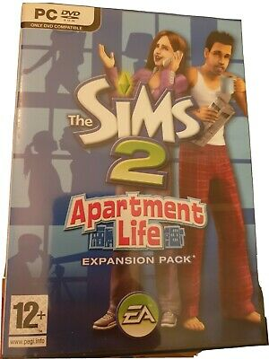 £21.99 • Buy The Sims 2 Apartment Life Expansion Game Pc Dvd-rom *complete With Manual & Code