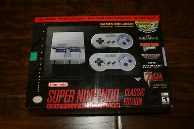 $ CDN224.63 • Buy New Super Nintendo Entertainment System SNES Classic Edition Mini FAST SHIPPING