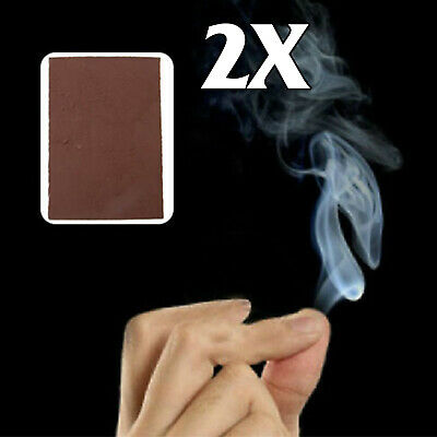 £1.99 • Buy 2X Magic Gimmick Prop Thumb Finger's Tips Smoke Magician Trick Stage Accessories