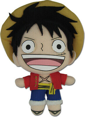$16.99 • Buy One Piece Luffy (New World) 5'' Plush Toys Ships Fast Straw Hat Pirates