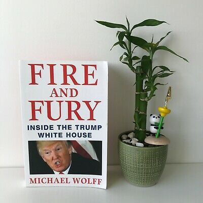 AU17 • Buy Fire And Fury By Michael Wolff Inside The Trump White House Donald Trump USA