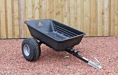 £349.99 • Buy Quad ATV Tipping Trailer 600lb By Rock Machinery