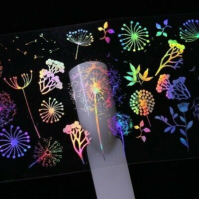 Nail Art Stickers | Holographic Foil Transfers | Dreamcatcher | Foils | Decals • 1.99£
