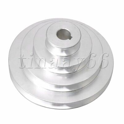 AU30.61 • Buy 4 Step Outer Dia 41-130mm Groove Pulley V Belt Step Pulley For Motor Shaft Drive