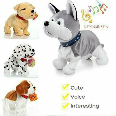 Gift For Kids Interactive Robot Dog Electronic Toy Walk Sound Bark Control H8I7 • 17.21£