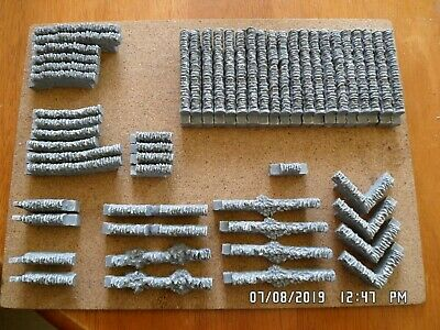 £13.99 • Buy 50 Stone Walling 00 Gauge (grey) Scenery Suit Train Coach Brand And New Boxed...