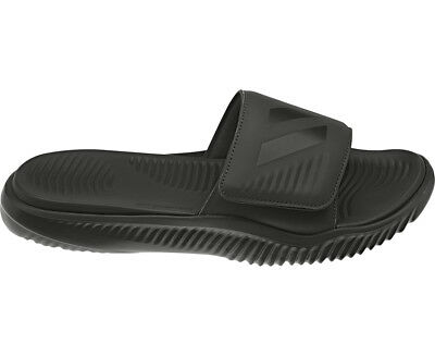 AU45.51 • Buy Adidas Alphabounce All Black Slides Athletic H&L Sandal B41720 Mens Sizes 6-13