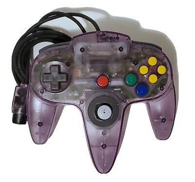 $ CDN38.56 • Buy Nintendo 64 N64 Atomic Purple Controller Authentic OEM Tested FREE SHIPPING
