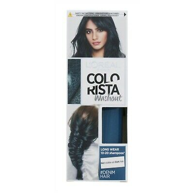 L'oreal Colorista Washout Semi Permanent Hair Dye Denim 80ml • 6.99£