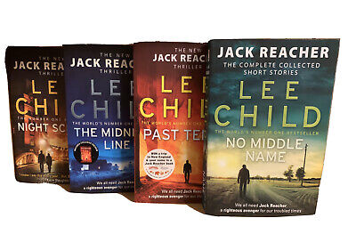 Lee Child Collection 21, 22, 23 +No Middle Name 4 Books Set • 19.99£