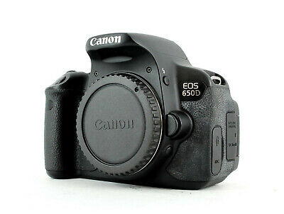 Canon EOS 650D 18.0 MP Digital SLR Camera (Body Only) • 304.99£