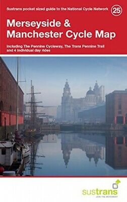 £14.65 • Buy Merseyside & Manchester Cycle Map 25: Including The Pennine Cycleway, The ...