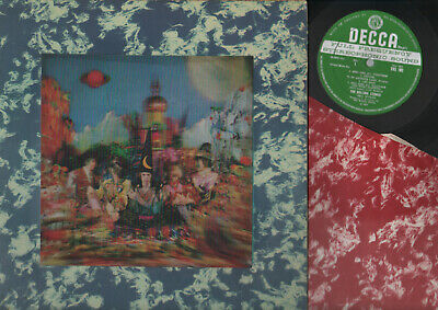 £85.07 • Buy Lp Rolling Stones Their Satanic Majesties Request 3d Cover Uk Stereo + Inner