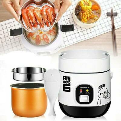 AU47.50 • Buy 1.2L Mini Portable Electric Rice Cooker For 1-2 Person Student Small Pot & Spoon