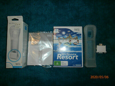 AU65 • Buy Sports Resort (Nintendo Wii, 2009) PAL Game + Motion Plus Attachment In Box