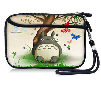 Totoro Wallet Coin Purse Phone Case Bag For 4.7  IPhone SE 2nd/ IPhone 8/7/6S/6 • 6.99£