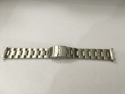 Seiko 22mm Divers Oyster Stainless Steel Watch Strap / Band Curved End,( Bd-4 ) • 19.99£
