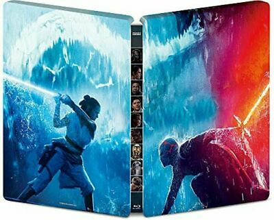 AU85.10 • Buy Star Wars : Rise Of Skywalker 3D + 2D Blu-ray SteelBook Region Free + Art Cards