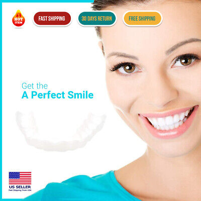 $15.21 • Buy Get The Perfect Smile | Fake Teeth Smile Serrated Denture Teeth Top And Bottom
