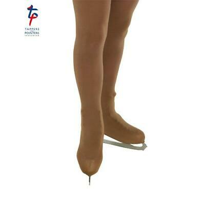 Girl's Over Boot Ice Skating Tights - Tappers & Pointers - Natural Over Boot • 8.95£