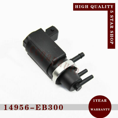 AU32.92 • Buy Vacuum Turbo Boost Solenoid 14956-EB70B For Nissan Navara D40 Pathfinder R51 2.5