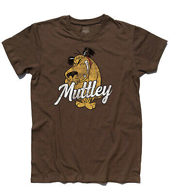 Men's T-Shirt Muttley 1 Dick Dastardly Wacky Races, Penelope Pit Stop Clyde • 18.54£