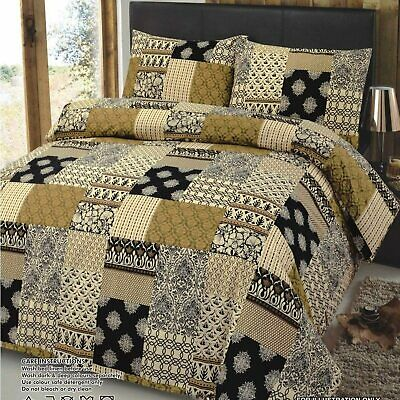 £28.95 • Buy 100% Egyptian Cotton KING SIZE Bedding Set Duvet Quilt Cover And Pillowcases
