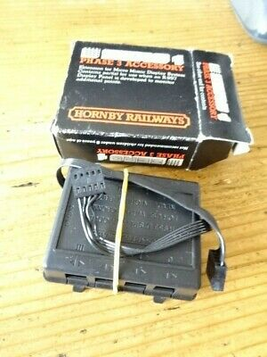 Hornby Zero 1 - R953 Display Module & Lead - Boxed - See Pics Lot 1 • 9£