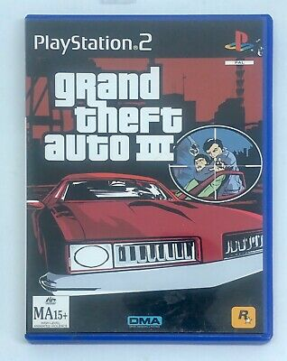 AU28.99 • Buy Grand Theft Auto 3 - PS2 Game VGC PlayStation