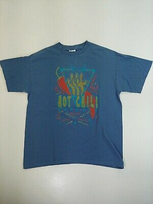 $ CDN19.99 • Buy Hot Chili T-shirt Vintage Single Stitch 50/50 USA Made Pepper Cactus