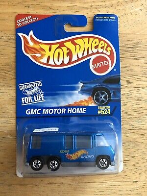 $8 • Buy HOT WHEELS GMC MOTOR HOME~ Blue Collector #524. New Condition.